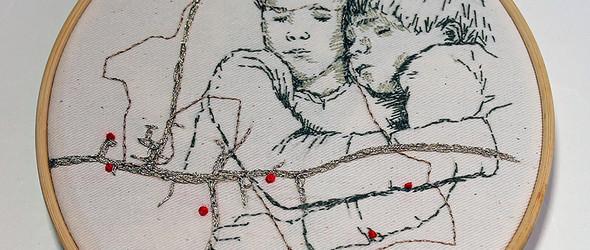 寥寥数笔的刺绣插画,满满的温情扑面而来 | Melissa Emerson