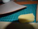 手工斜跨皮包制作过程