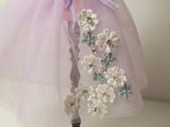 【blythe娃衣第三季】紫色纱网罩裙