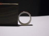 马鞍戒 手工订做白菩提根子戒指扳指生日礼物创意礼品男女指环