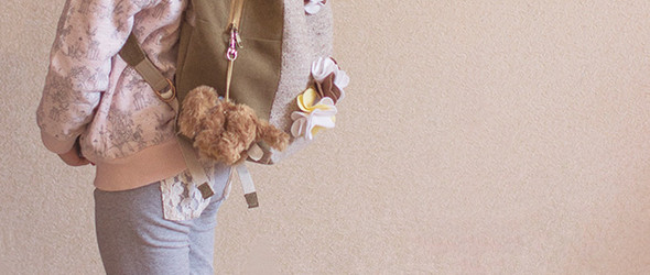 布艺DIY手工制作教程:可爱的儿童背包(双肩包)制作教程