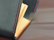 黑色长款手拿包钱夹钱包 意大利buttero面皮 YKK拉链 法国Fil AU Chinois