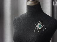 【LXB私人设计】手作蜘蛛胸针