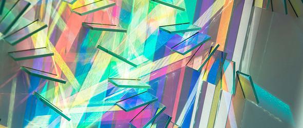 彩色玻璃的艺术创想 |Chris Wood