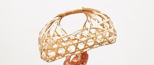清水贵之 x 别府竹细工:一只竹篮的编织过程(视频+图文)