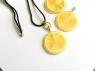 蜜蜡拼接柠檬片仿生设计