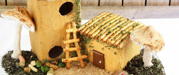 DIY一座童话般的可食用小房子