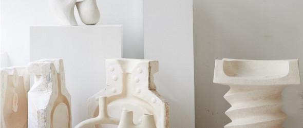 动感与安静并在的陶瓷雕塑 | Simone Bodmer
