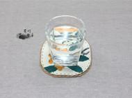 手工杯垫【枇杷】,尝尝果,喝喝茶吧~