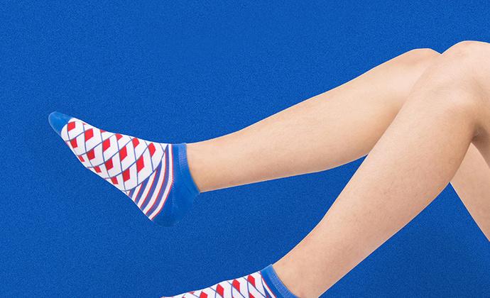 意品造物玩酷子弟风尚Liberty Geo船袜